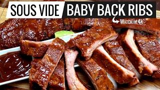Sous Vide Baby Back Ribs