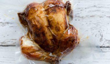 delicious sous vide whole chicken