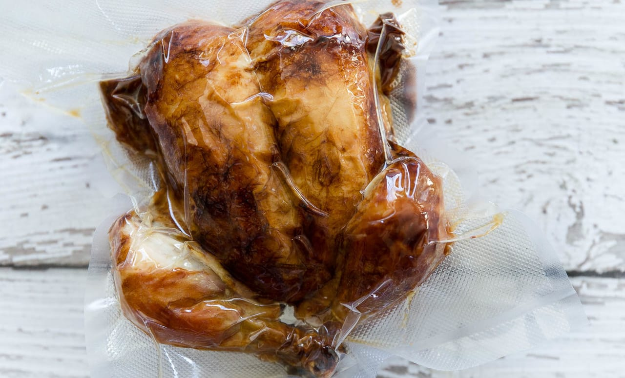 delicious sous vide whole chicken