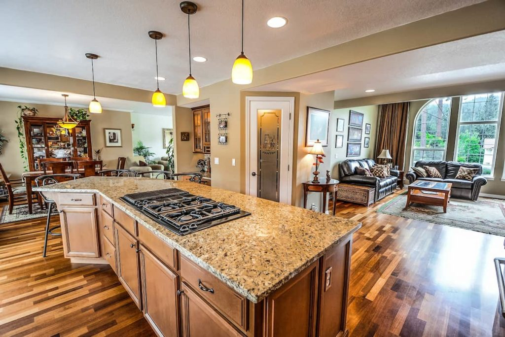 Choose the kitchen countertop