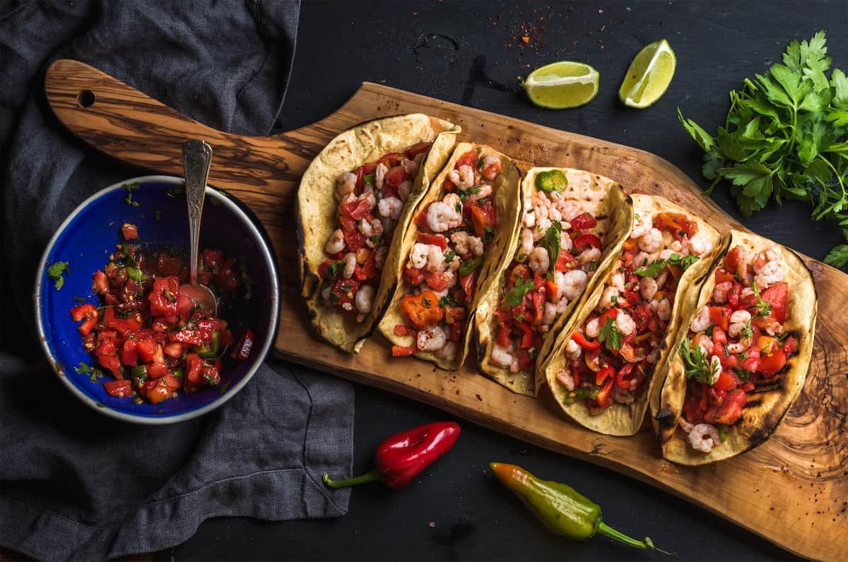 taco night menu