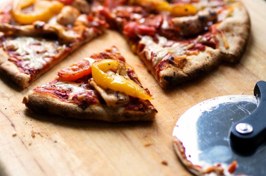 Pizza Tomato Sauce Or Pesto Sauce