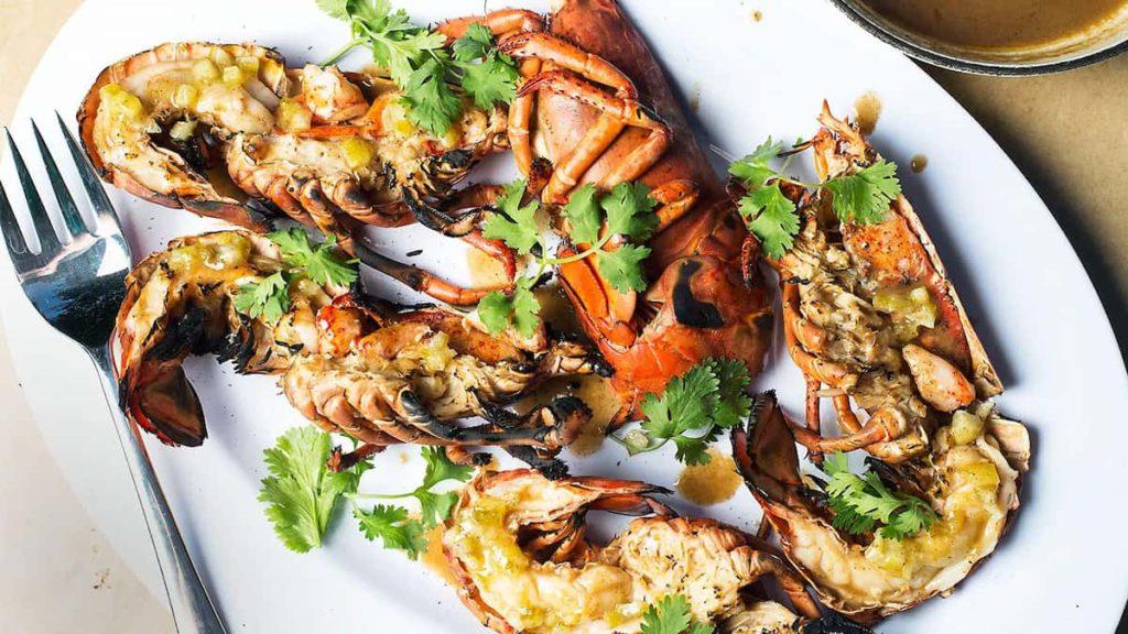Tender Grilled Lobster